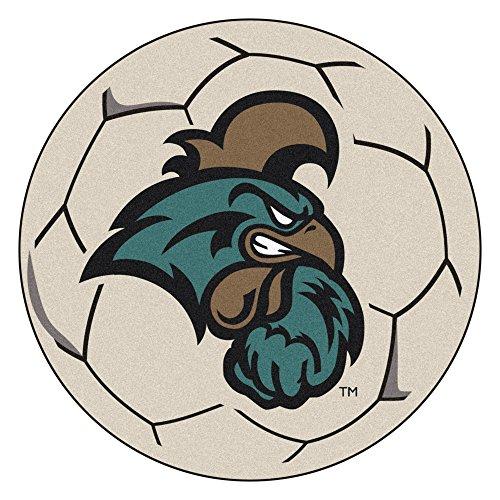 Fanmats 3696 Coastal Carolina Soccer Ball, Team Color, 27'' Diameter by Fanmats