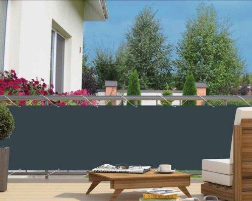 Home Garden Balkonsichtschutz Bode, LxH ca. 600x90 cm anthrazit