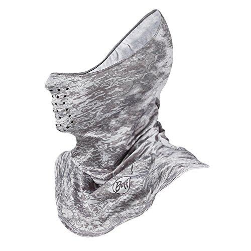 BUFF Unisex UVX Mask, Pelagic Camo White, OSFM by Buff (Image #1)