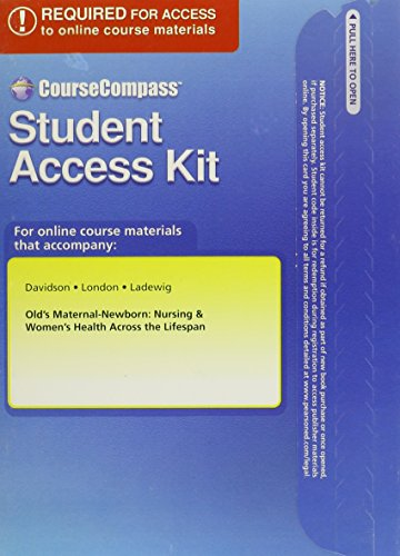 Download CourseCompass Access Code Card for Olds Maternal-Newborn