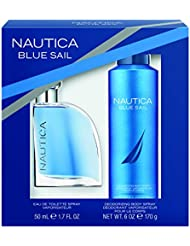 Nautica Blue Sail 2pc Set -1.7oz Eau De Toillette + 6.0 oz Body Spray