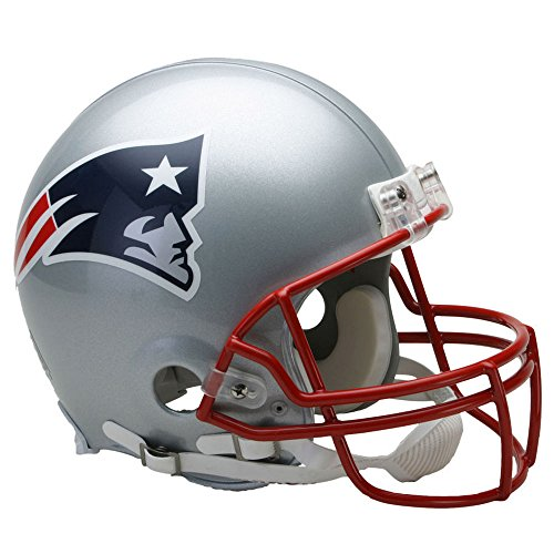 New England Patriots Officially Licensed NFL Proline VSR4 Authentic Football Helmet by Riddell