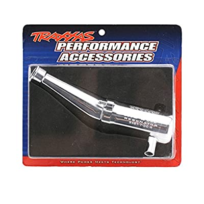 Traxxas 5487 T-Maxx Resonator Double Chamber Tuned Pipe: Toys & Games