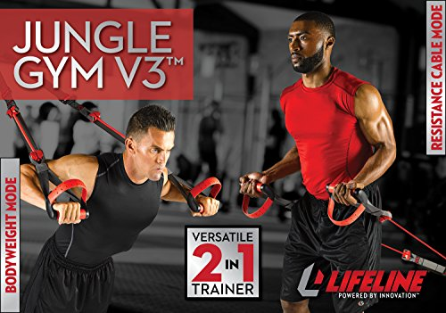 Lifeline Jungle Gym V3 Bodyweight and Resistance Cable Trainer