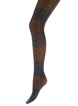 f10f3d1803c Giulia Bonita Patterned Cotton Tights Model 2 - Hosiery Outlet at ...