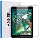Anker New iPad 9.7 in (2018 2017) iPad Air 2 iPad Pro 9.7 in iPad Air Screen Protector - Anker Tempered Glass Screen Protector with Retina Display - Anti-Scratch - Smudge-Resistant - Easy Installation