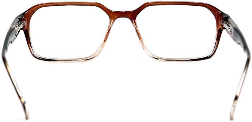 Desconocido Gafas de luz Anti-Azul con Lentes Transparentes antideslumbrantes para Ps4, Trabajo, Juegos, protección Ultravioleta para Lentes Transparentes para Hombres y Mujeres-C9