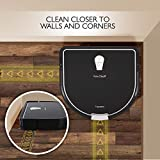 Smart Automatic Robot Vacuum Cleaner - Super Quiet Self Charging Robotic Vacuum Cleaner Automatic Cleaning, Sweep, Mop - For Home Carpet, Hardwood Floor, Kitchen Tiles, Marble - Pure Clean PUCRC755