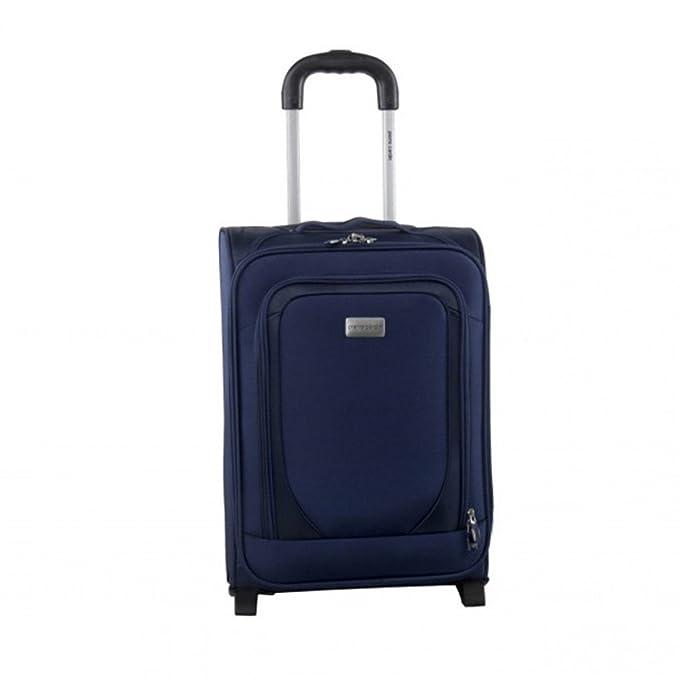 Carro a partir viaje semirrígido maleta PIERRE CARDIN azul el equipaje en la mano avión 33x18x48cm FG1773: Amazon.es: Ropa y accesorios