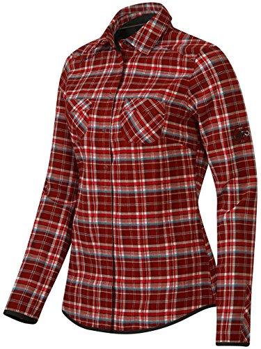 Mammut Ascona Women 's Camiseta maroon-chill