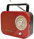 JENSEN SB2000RB Portable AM/FM Radio in Red