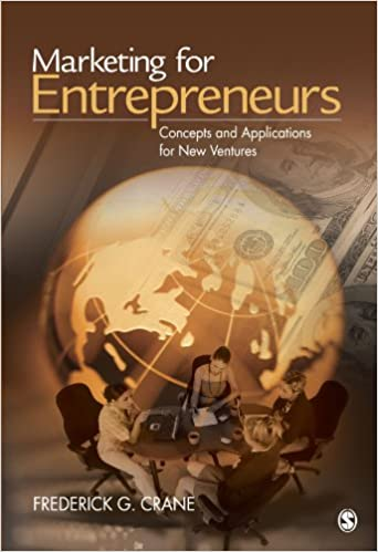 Book Marketing for Entrepreneurs: Concepts and Applications for New Ventures