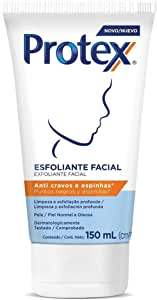 Esfoliante Facial Protex Anti cravos e espinhas 150ml