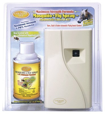 Country Vet Equine Mosquito and Fly Control - Metered Kit...