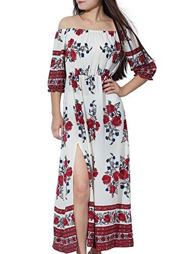 Yidarton Womens Chiffon Dresses Shoulder product image