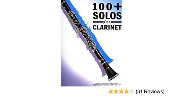 100+ solos for clarinet: 9780711931039: Amazon com: Books