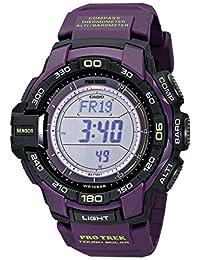 Casio PRG270-6ACR 52mm Purple Plastic Band & Case Mineral Men's Watch