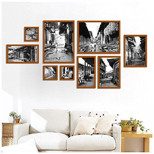 Bilderrahmen Collage Wohnzimmer Kreative Holz Kunststoff Panel