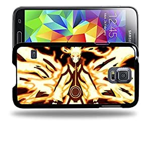 Case88 Designs Naruto Naruto Nine-Tailed Beast Mode Protective Snap-on Hard Back Case Cover for Samsung Galaxy S5