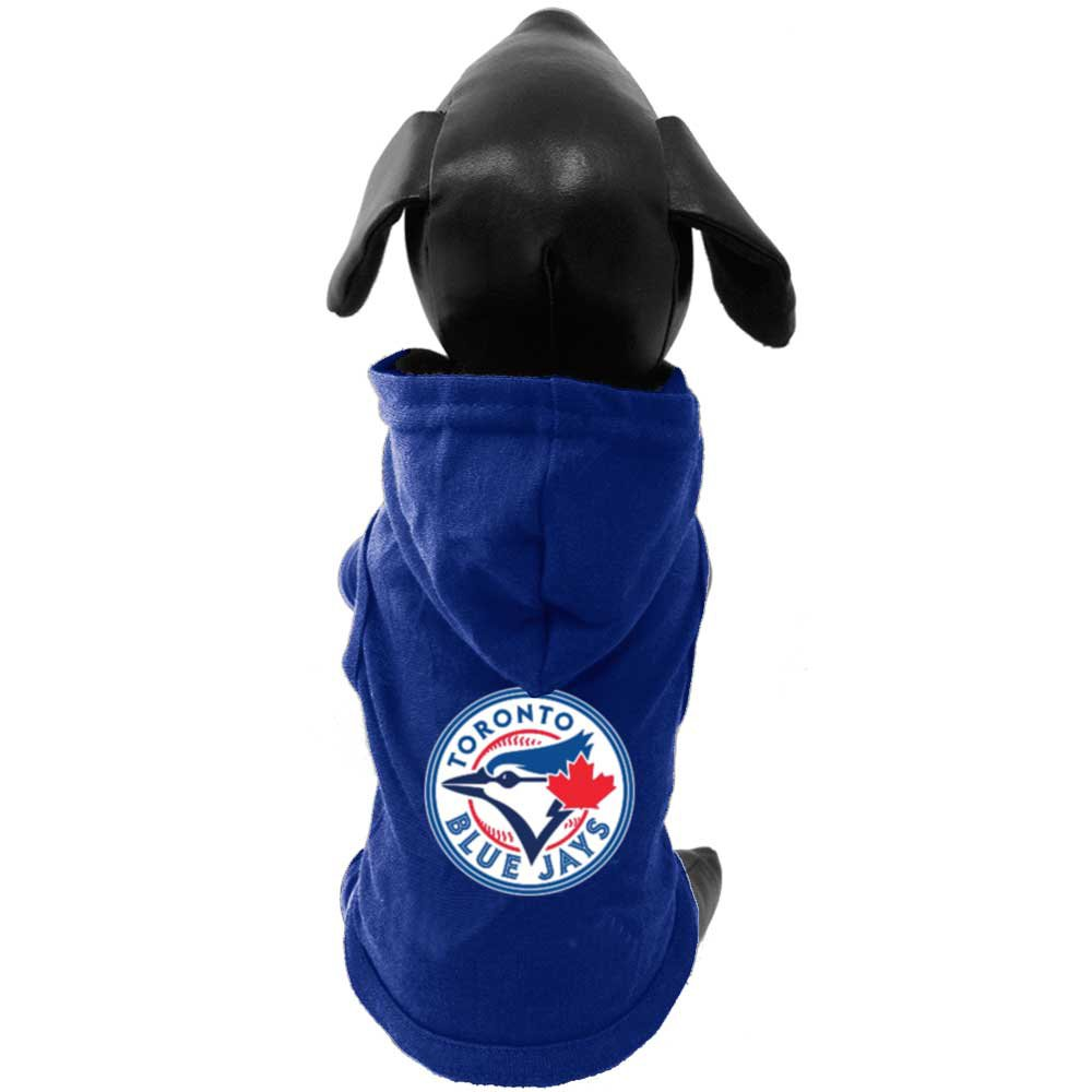 All Star Dogs Official Toronto Blue Jays Cotton Hoodie, Small Lambert Vet Supply 693514