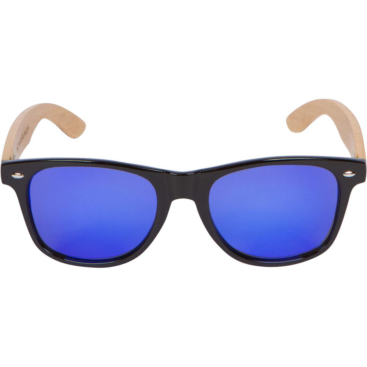 Amazon.com: WOODIES - Gafas de sol de madera de bambú con ...