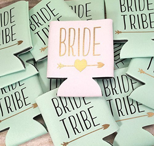 Bride Tribe Bachelorette Party Wedding Can Drink Sleeve
