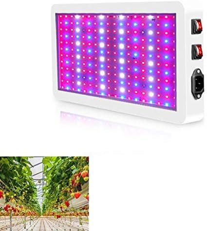 312 LED Grow Full Spectrum Panel Lamp Indoor Flower Plant New Light Z9D0