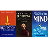 Swami Vivekananda Book In English : Meditation and Its Methods : According to Swami Vivekananda + Powers of the Mind + Fear not be Strong