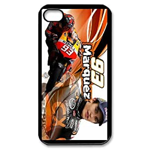 iPhone 4,4S Phone Case Marc Marquez F5U7833 by lolosakes