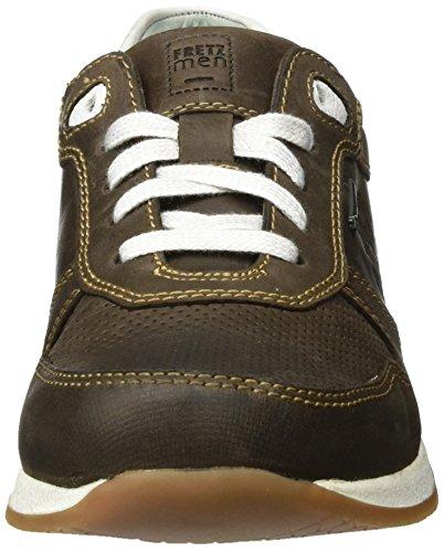 FRETZ men–Stans–Chaussures basses Homme–Marron Chaussures en übergrößen