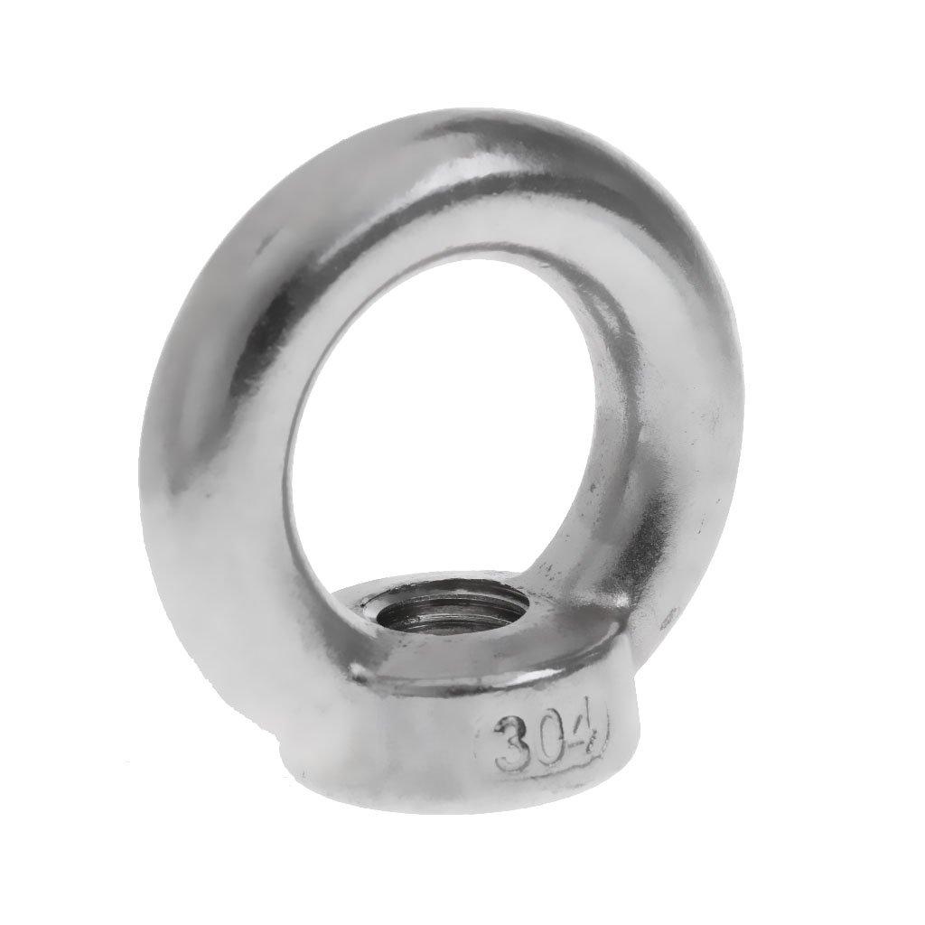 MagiDeal Boulons De Levage Anneau Oeil Forme /Écrous Nut Bolt Accessoire Quincallerie 12 mm