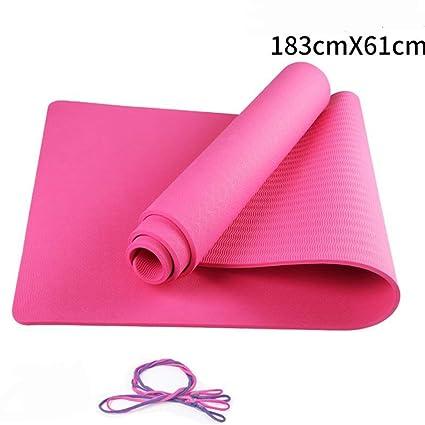 Amazon.com : Jzmai Yoga mat Yoga Mat Beginner Fitness Mat ...
