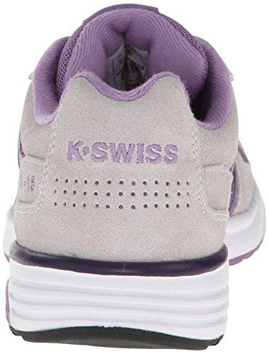 K-SWISS Womens SI-18 Rannell 2 Classic Sneaker Orchid/Grey/Grape BXSPfxx