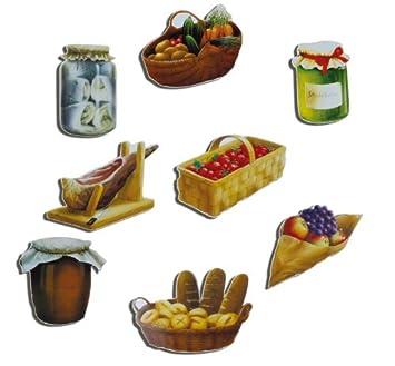 Kaufmann - Imanes de carga 8 Juego de tradicional Delicias ...