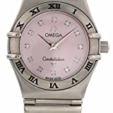 Omega Constellation quartz womens Watch 1566.56.00 (Certified Pre-owned)