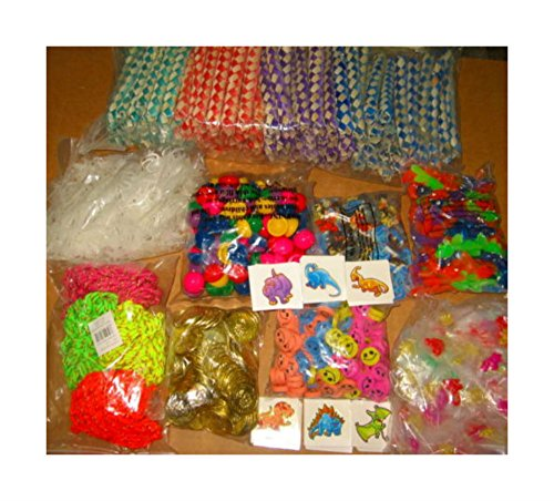 1440 TOYS, 10 GROSS, FINGER TRAPS, GOLD COINS, EARRINGS, PARTY FAVORS by Unbranded