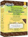 Addiction Raw Dehydrated Grain-Free Dog Food, Steakhouse Beef & Zucchini, 2lbs