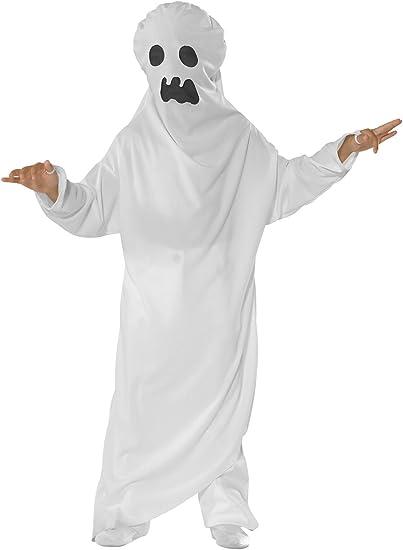 CoolParty - Disfraz de fantasma para niño, talla 7 años (A038-001 ...