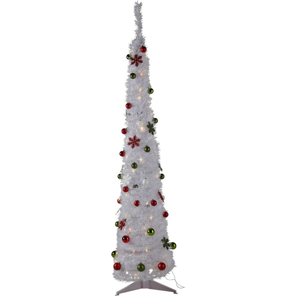 Slimline Christmas Trees 6ft