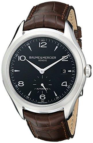 Baume & Mercier Men's BMMOA10053 Clifton Analog Display Swiss Automatic Brown Watch
