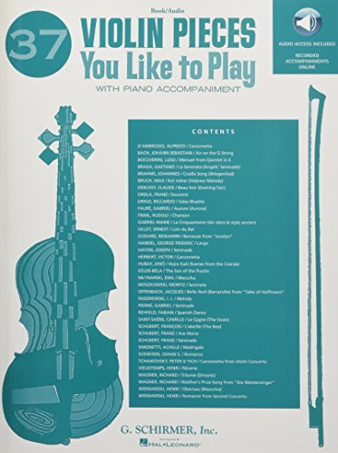Violin Ensemble Pieces - 37 Violin Pieces You Like To Play With Piano Accompaniment