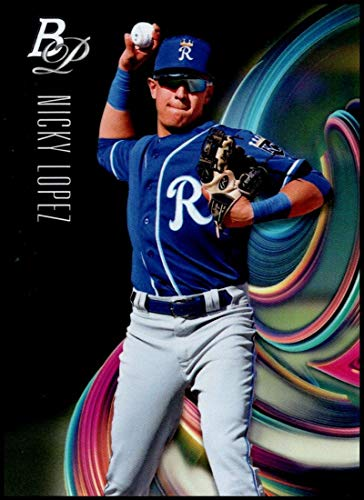 2018 Bowman Platinum Top Prospects Baseball #TOP-76 Nicky Lopez NM-MT Kansas City Royals Official MLB Trading Card