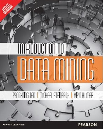 Introduction to Data Mining by Tan (2006-08-02) -  PEARSON EDUCATION
