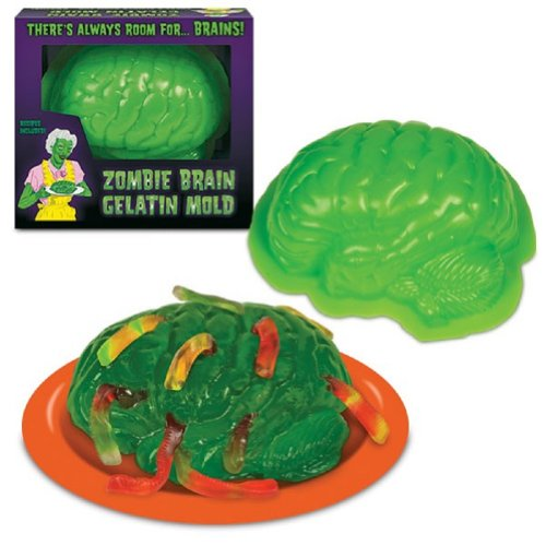 Zombie Brain Life Size Gelatin Jello Mold for $<!--$9.49-->