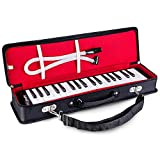 Mugig Melodica, 37 Keys, Wide Range from F to F3, with Carrying Bag, Lightweight and Environmentally-friendly, Suitable for Beginner or Kids