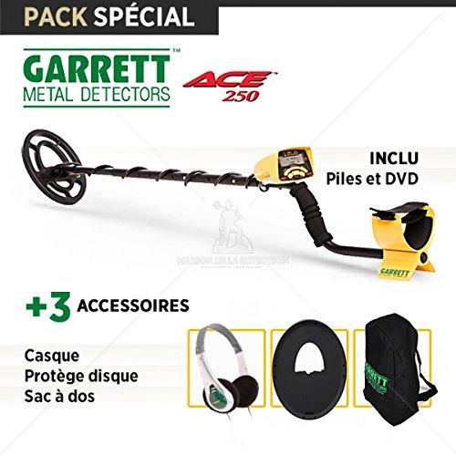 Detector de metales Garrett Ace 250: Casco protector para disco-Mochila: Amazon.es: Jardín