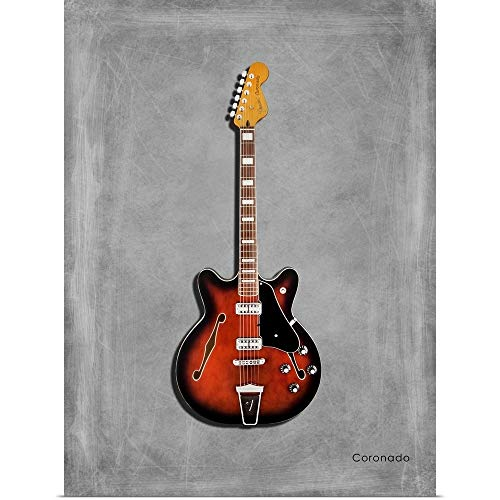 GREATBIGCANVAS Poster Print Entitled Fender Coronado by Mark Rogan 27