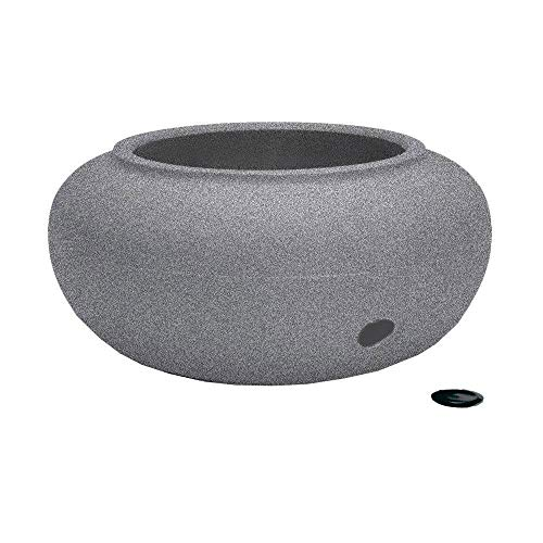 HC Companies Garden Hose Pot/Planter (Pots Hose Lids With)