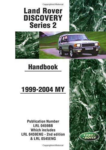 Land Rover Discovery Series 2 Handbook 1999-2004 MY pdf