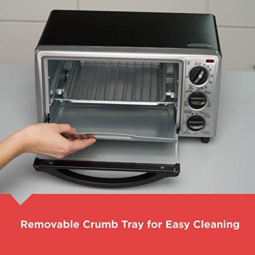 BLACK+DECKER TO1313SBD Decker To1313Sbd 4Slice Toaster Oven, Black by BLACK+DECKER (Image #4)